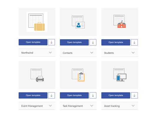 Templates in Microsoft Access